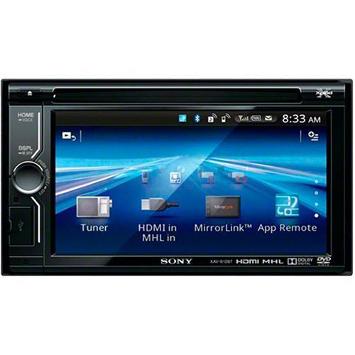 Som Automotivo Com Dvd Player Sony - Xa612bt