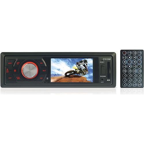 Som Automotivo Com Dvd Player Icone - Dv2006
