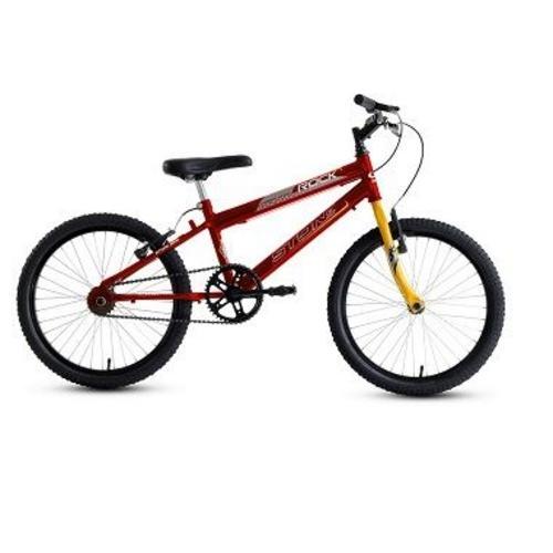 Bicicleta Stone Bike Rock Aro 20 Rígida - Vermelho