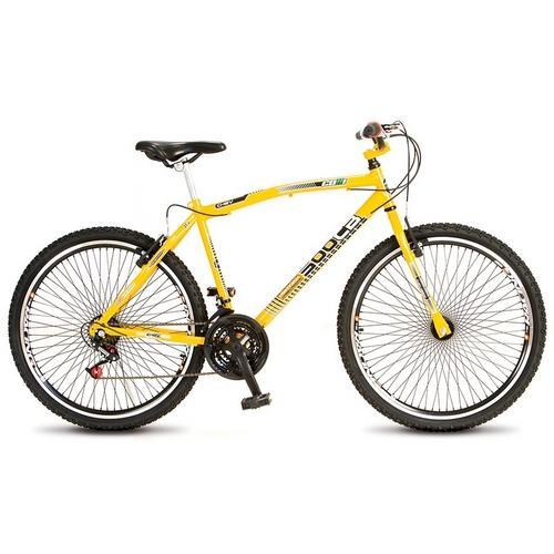 Bicicleta Colli Bike Cb 500 Chev Aro 26 Rígida 21 Marchas 72 Raios - Amarelo