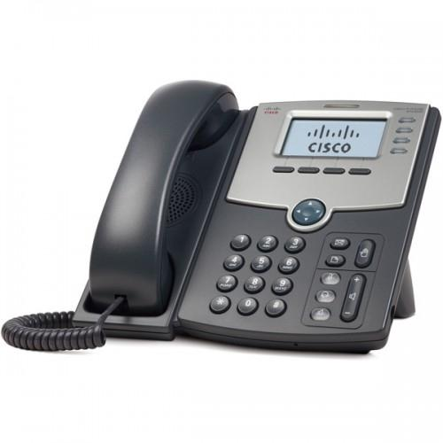 Telefone Com Fio Cisco Ip Spa504g Com Id Preto