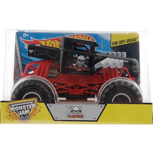Veículo Hot Wheels Offroad Monster Jam Carros 1:24 Dragon Cgd65 Mattel