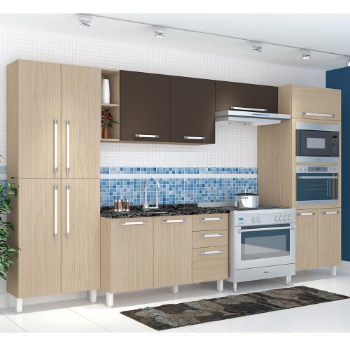Cozinha Completa Henn Smart 13 Portas 3 Gavetas