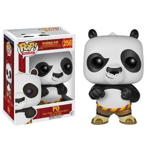 Boneco Po Kung Fu Panda Funko