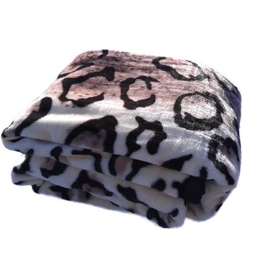 Cobertor Casal Rachel Leopardo Deminas