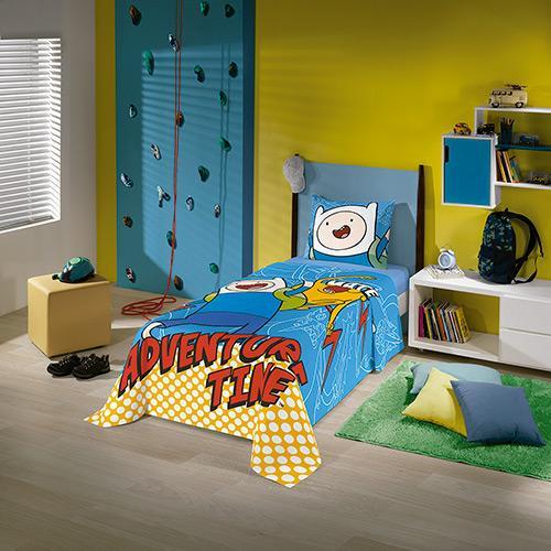 Jogos de Cama Lepper Home Infantil 2 Peças Hora de Aventura