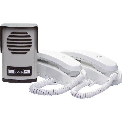 Interfone Porteiro Eletrônico Coletivo 2 Pontos Agl