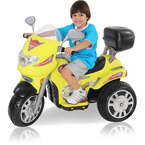 Mini Moto Biemme Sprint Custon 167 6v - Amarelo