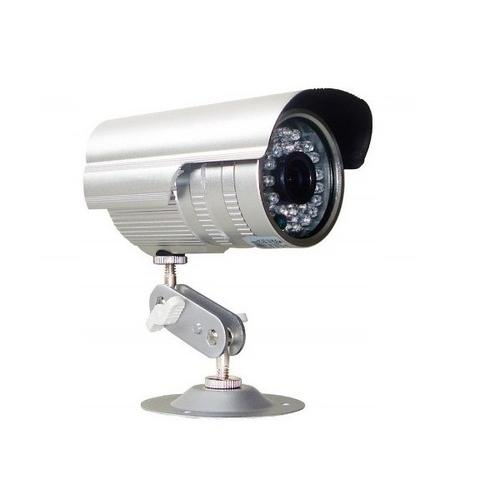 Câmera Network Infravermelho Ccd Sony 3.6 Mm 1/3 1400 Linhas 30 Metros Prata