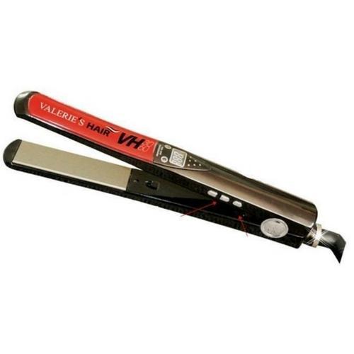 Chapinha Valeries Hair Nano Titanio New Tecnology Titânio 230ºc Vermelho Bivolt - Vh3060
