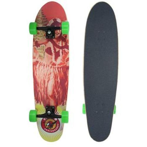 Skate Sf749 Sunset - Hawaii Girl Rosa Flying Skateboards