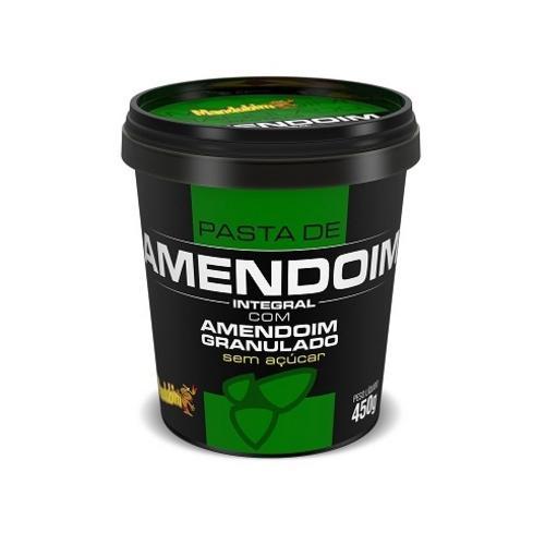 Mandubim Pasta de Amendoim Integral Com Sucralose - 450g