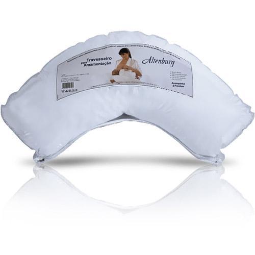 Travesseiro Altenburg Amamentação 100% Algodão 100% Poliester 100% Poliuretano 31x84cm