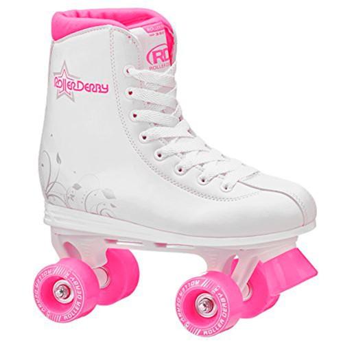 Patins Roller Derby Star 350 Branco/rosa U324g