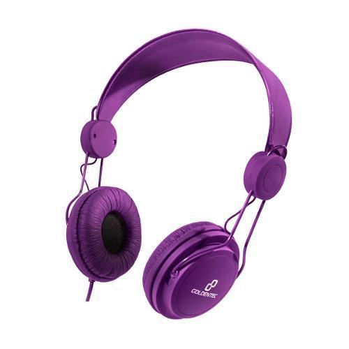 Fone de Ouvido Headphone Gt Soul Colors Roxo Goldentec