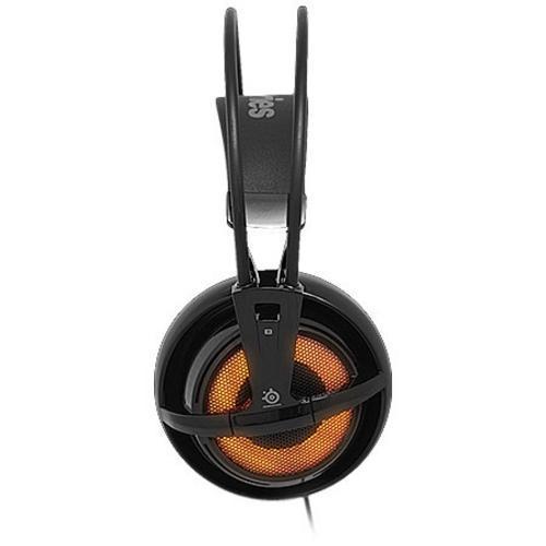 Fone de Ouvido Headset Gamer Siberia V2 Heat Laranja Steelseries 51141