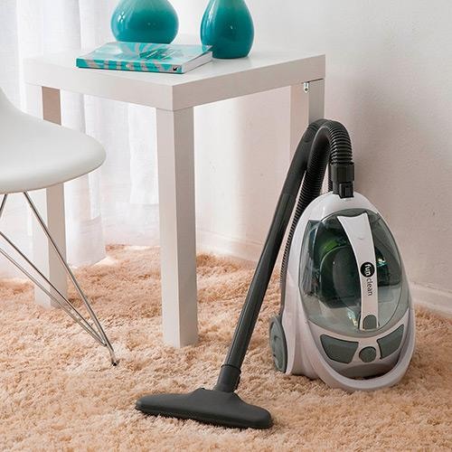 Aspirador de Pó Fun Clean - 110v - Easy Clean Branco