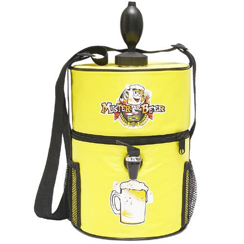 Chopeira Portátil Mister Beer Amarelo