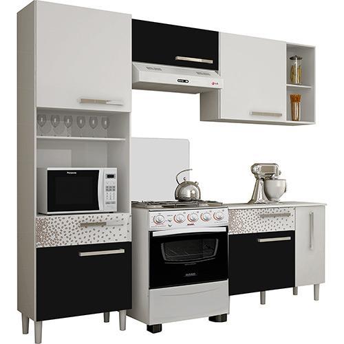 Cozinha Completa Palmeira Móveis Nobilis Kit 2 6 Portas 2 Gavetas