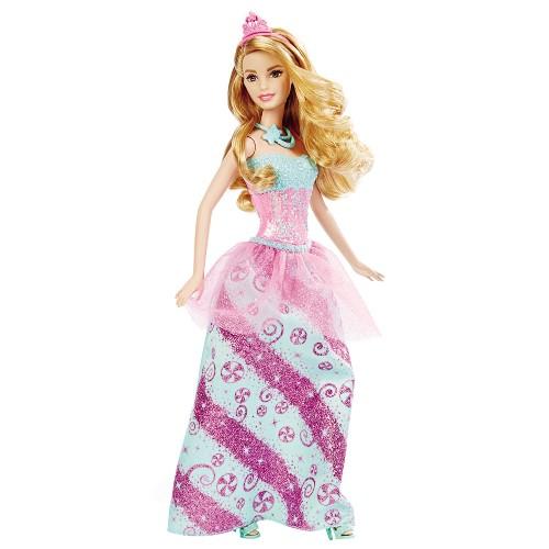 Boneca Barbie Mattel Princesa Reinos Mágicos - Reino dos Doces Dhm54