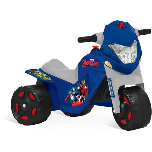Mini Moto Bandeirante Vingadores 6v - Azul