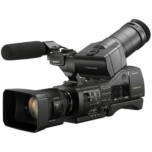 Filmadora Sony Full Hd Filmadora Com 2 Lentes Preto - Nex-ea50h
