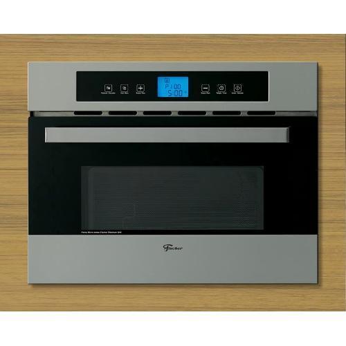 Micro-ondas 34 Litros de Embutir Com Grill - Inox/prata - Fischer - 17411 - 220v