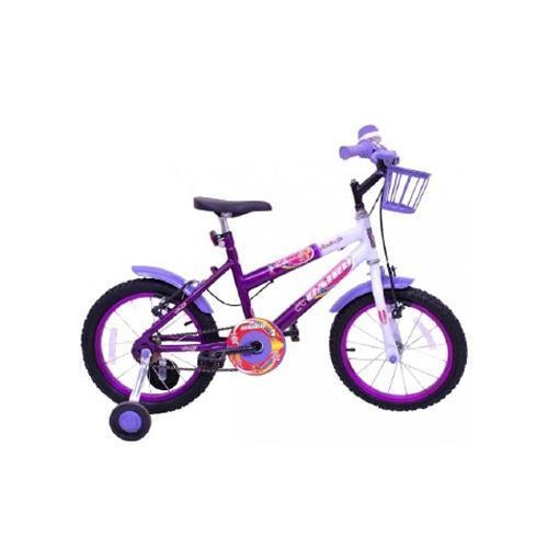 Bicicleta Master Bike Fadinha Aro 16 Rígida - Branco/violeta