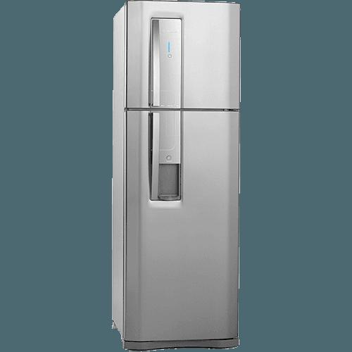 Geladeira refrigerador 380 litros 2 portas inox for Geladeira 2 portas inox