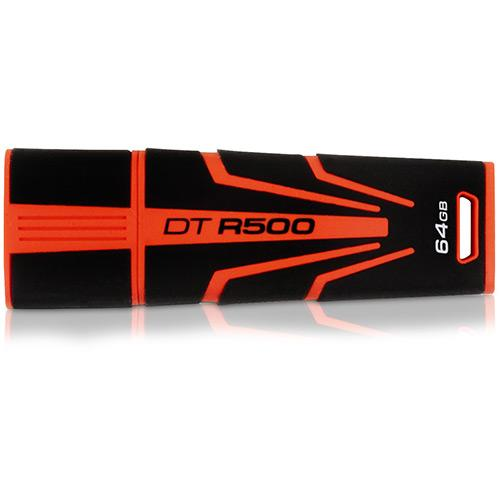 Pen Drive Kingston Datatravaler Laranja 64gb - Dthx30