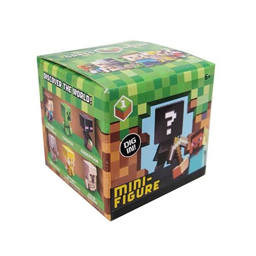Bonecos Minecraft Caixa Coleção de Figuras Mattel