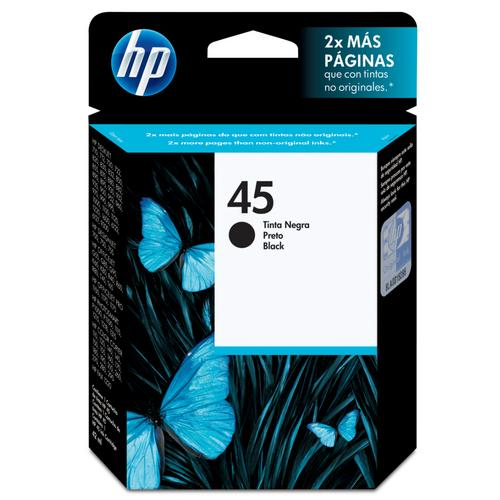 Cartucho Hp Hp 45 42ml Preto 51645al