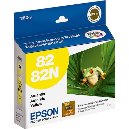 Cartucho Epson Hidefinition 7ml Amarelo T082420