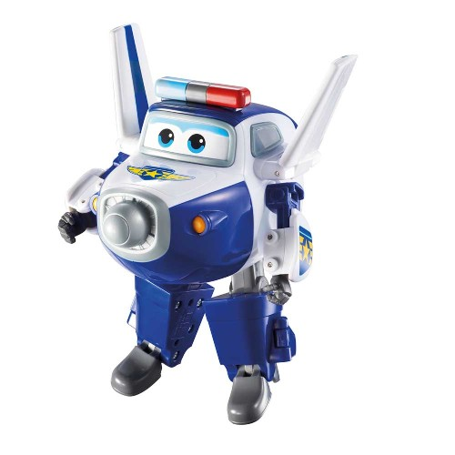 Avião Super Wings - Paul Change em Up Intek Toys