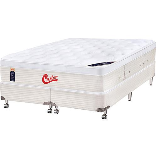 Cama Box Castor Gold Star 193x203x55cm