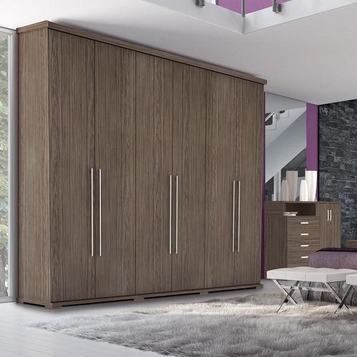 Guarda-roupas Henn Studio Com 6 Portas 6 Gavetas - D179