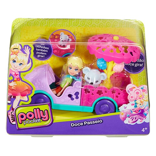 Boneca Polly Pocket Mattel Doce Passeio