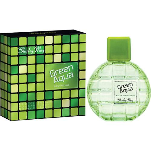 Perfume Green Aqua Shirley May Eau de Toilette Masculino 100 Ml