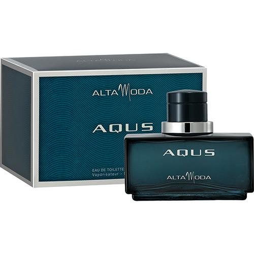 Perfume Aqus Pour Homme Alta Moda Eau de Toilette Masculino 100 Ml