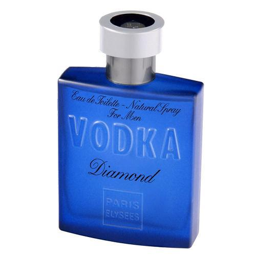 Perfume Vodka Diamond Paris Elysees Eau de Toilette Masculino 100 Ml