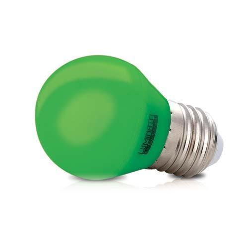 Lâmpada Luminatti Led G45 Color Green 6w Bivolt - Lm280