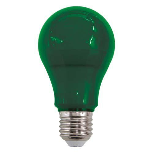Lâmpada Luminatti Led A60 Color Green 10w Bivolt - Lm211