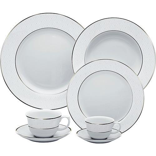 Aparelho de Jantar e Chá Diamond 30 Peças - Oxford
