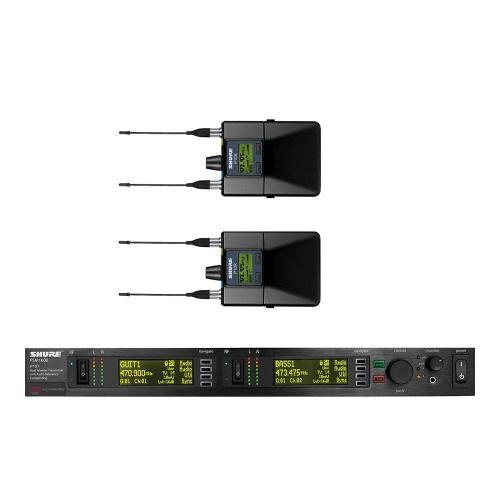 Kit 2 Receptores + Transmissor P10tr-l8 Shure