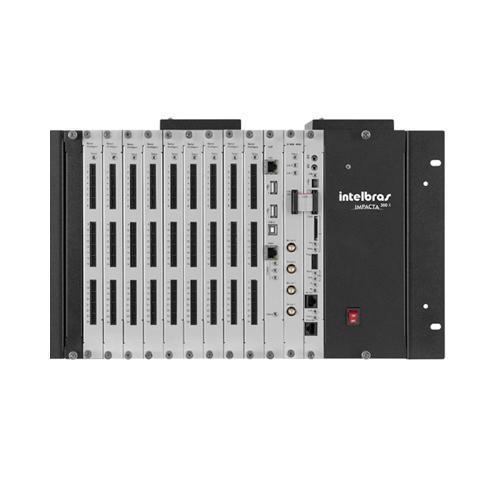 Mini Central de Pabx Intelbras Impacta 300 1 Linhas e 8 Ramais