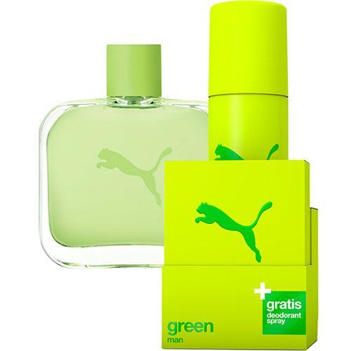 Estojo Green Puma Eau de Toilette Masculino 50 Ml