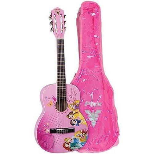 Violão Acústico Princess 6 Cordas Nylon Vip-3 Colorido - Phx Instrumentos