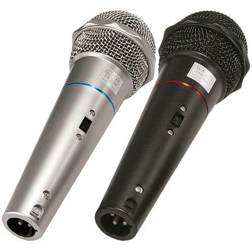 Microfone 2 Microfone de Mão C/ Fio Csr505 Csr