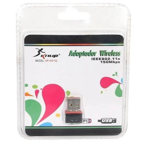 Adaptador Wireless 150mbps Kp-aw152 Knup