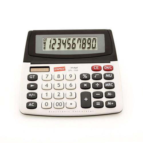 Calculadora de Mesa 10 Dígitos Spl250 Staples